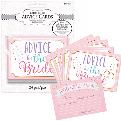 50% OFF: Advice for the Bride Cards - 24 Pk