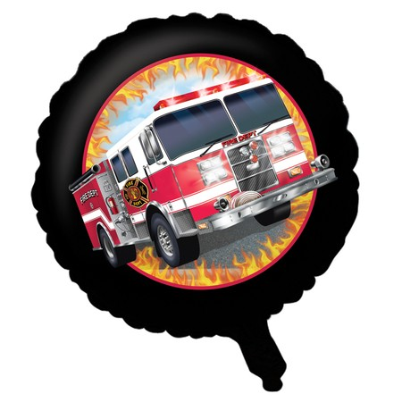 Fire Department: Large Foil Balloon