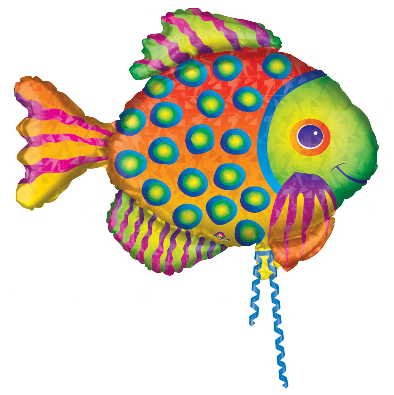 "Prismatic Fish 33"" Supershape Balloon"