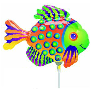 Tropical Fish Mini Shape Balloon