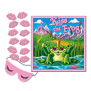 Princess Party: Kiss the Frog Party Game