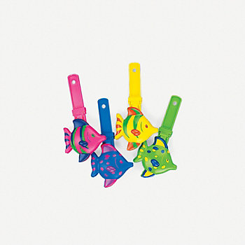 Fish Large Handclappers 12 Pk