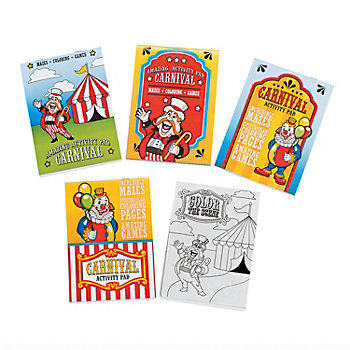 Carnival Activity Pads 12 Pk