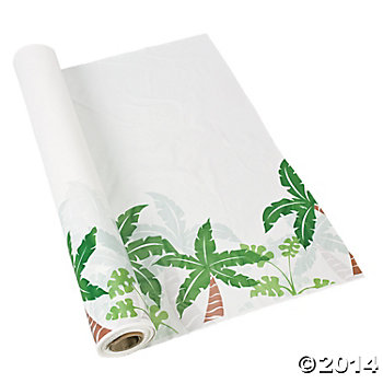 Palm Tree Tablecover Roll - 100ft.