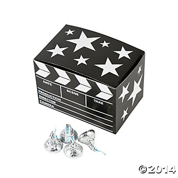 Movie Night: Clapboard Favor Boxes - 12 Pack