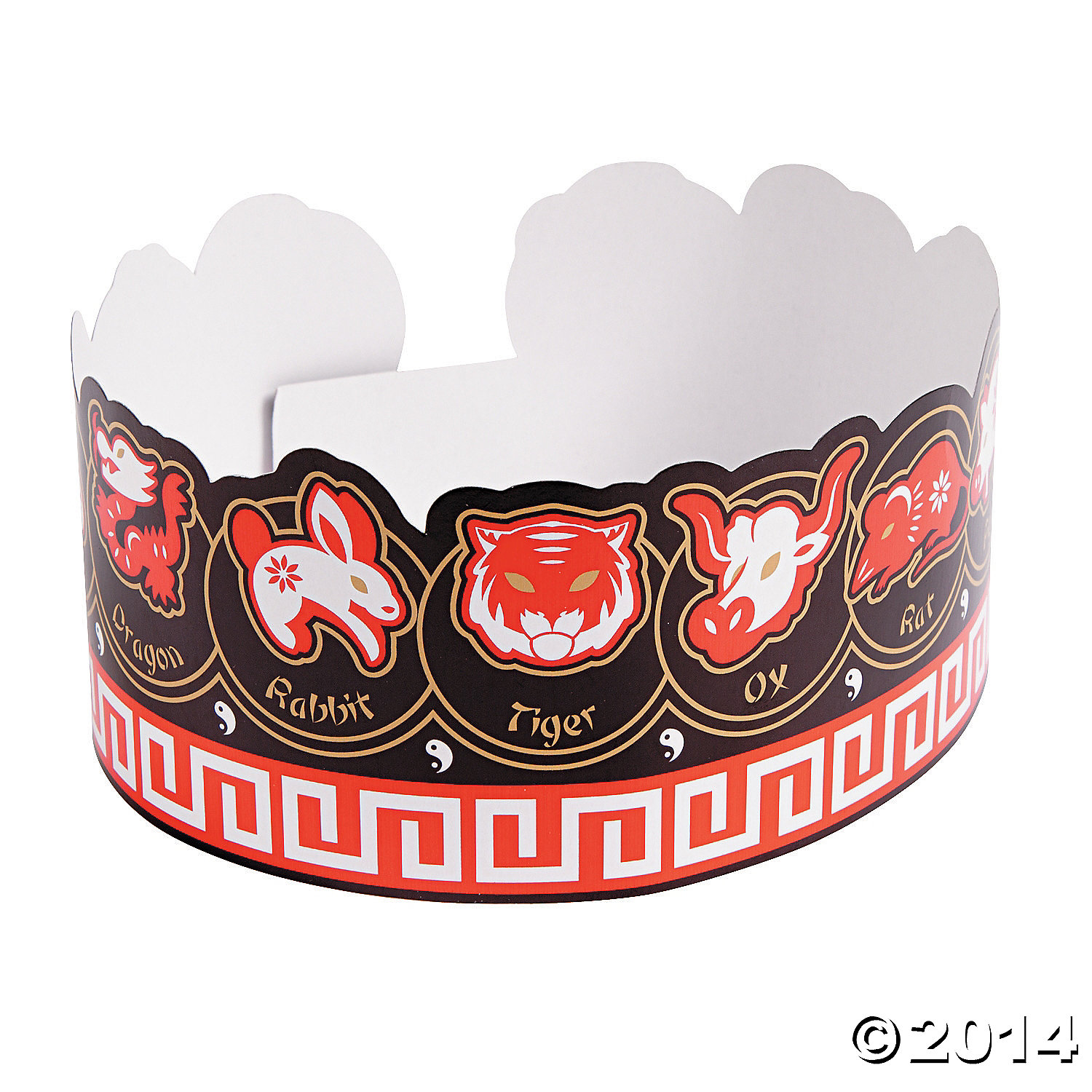 Chinese New Year Crowns 12 Pk