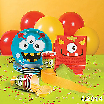 Mini Monster 1st Birthday Party Supplies Party Supplies Canada