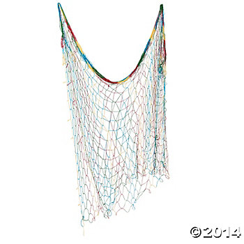 Cotton Tie-Dye 14 Foot Fish Net