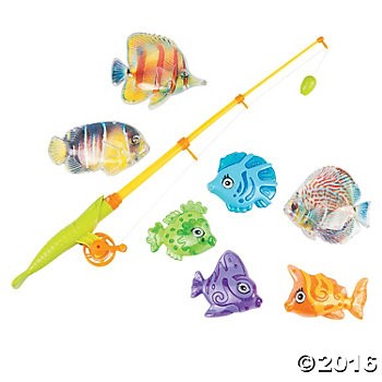 Plastic Magnetic Fishing Game