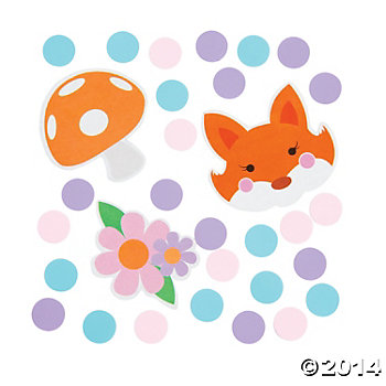 Little Fox Table Confetti Bag