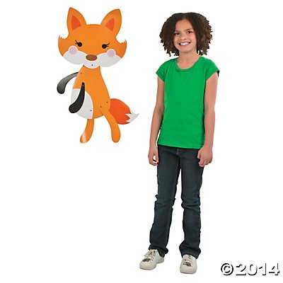 "Fox 30"" Jointed Cutout"