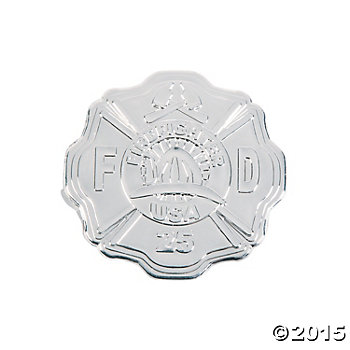 Fire Department Silver Badge