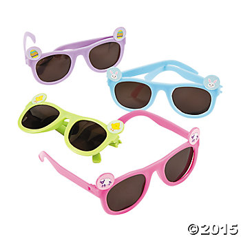 Easter Icon Sunglasses - 12 Pk