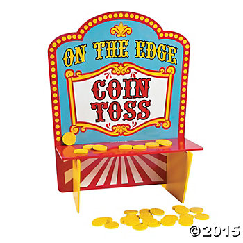 Carnival Wood On The Edge Coin Toss Game