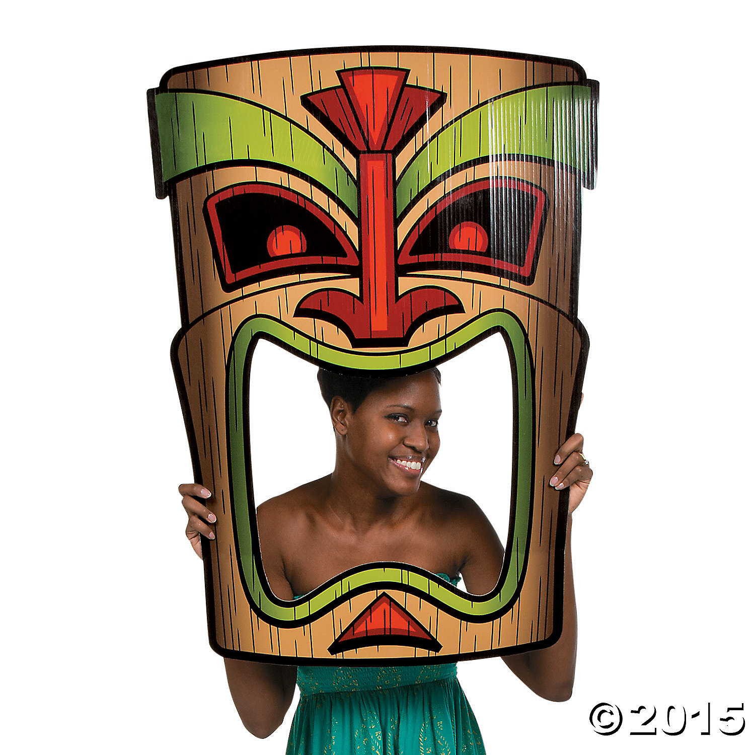 Luau Giant Tiki Photo Prop