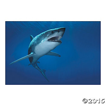 Shark 9 Foot Wall Backdrop