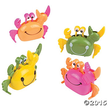 Wind Up Crabs - 12 Pack
