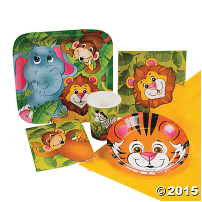 *Zoo Animal Party Pack for 8