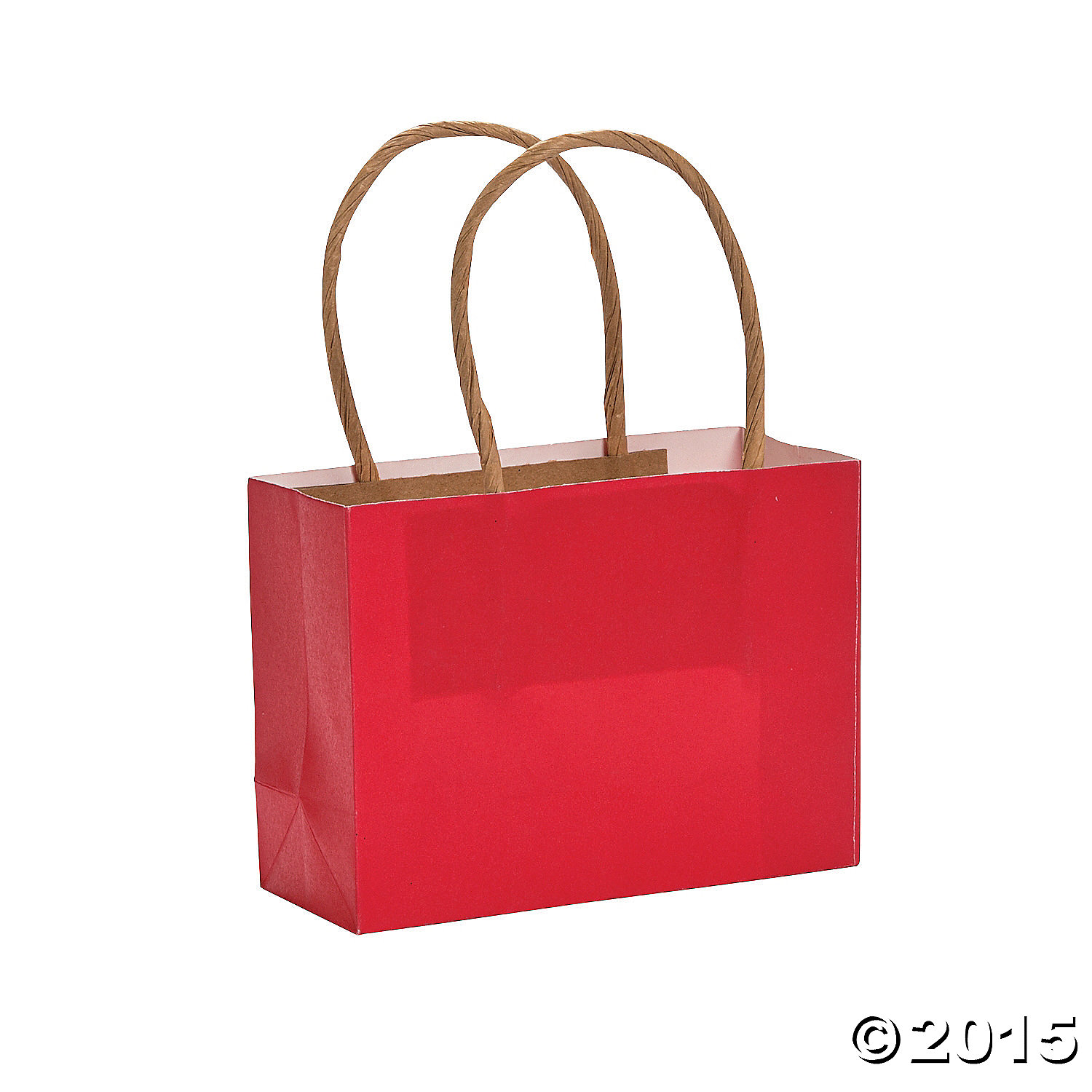 Red Small Craft Bags - 12 Pk