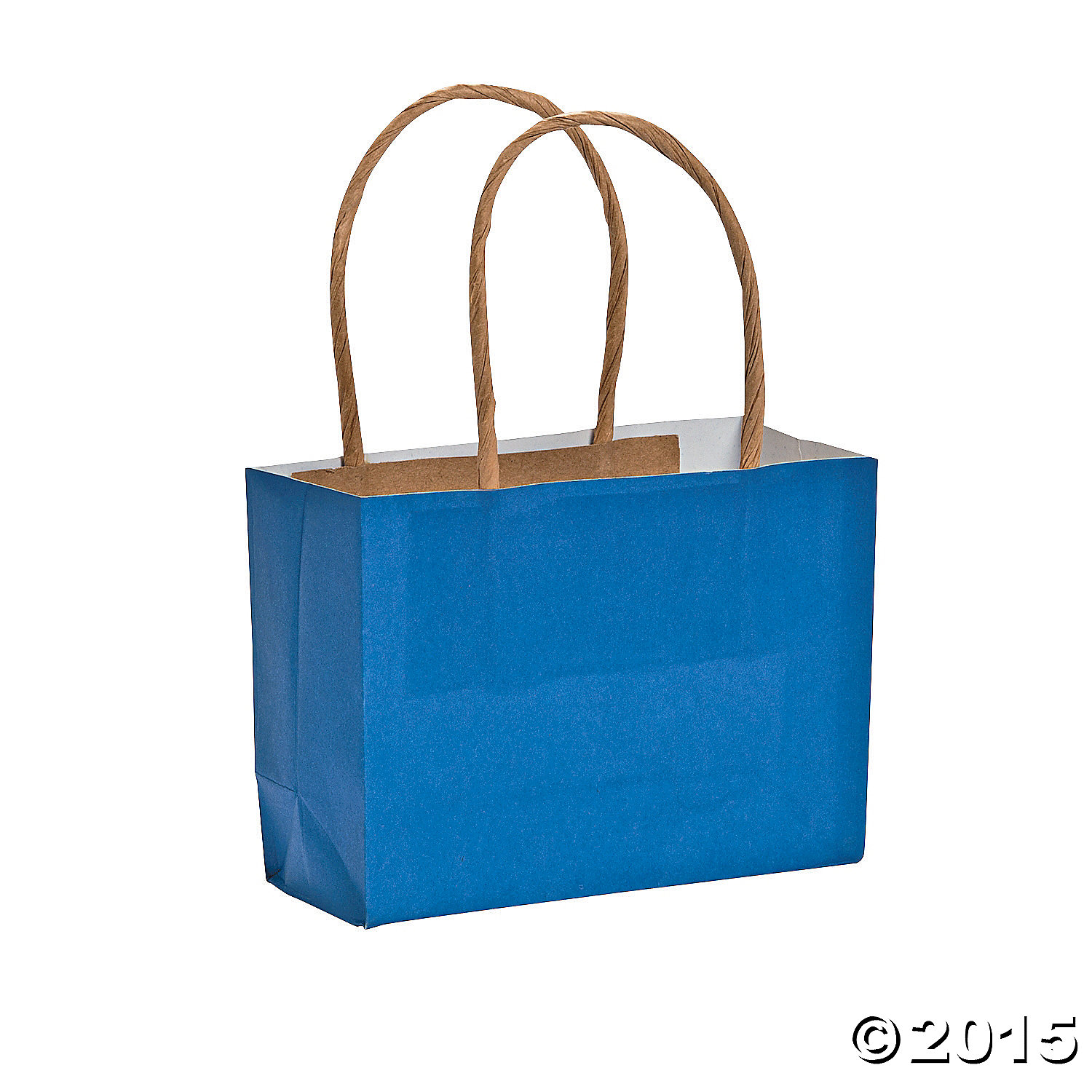 Blue Small Craft Bags - 12 Pk