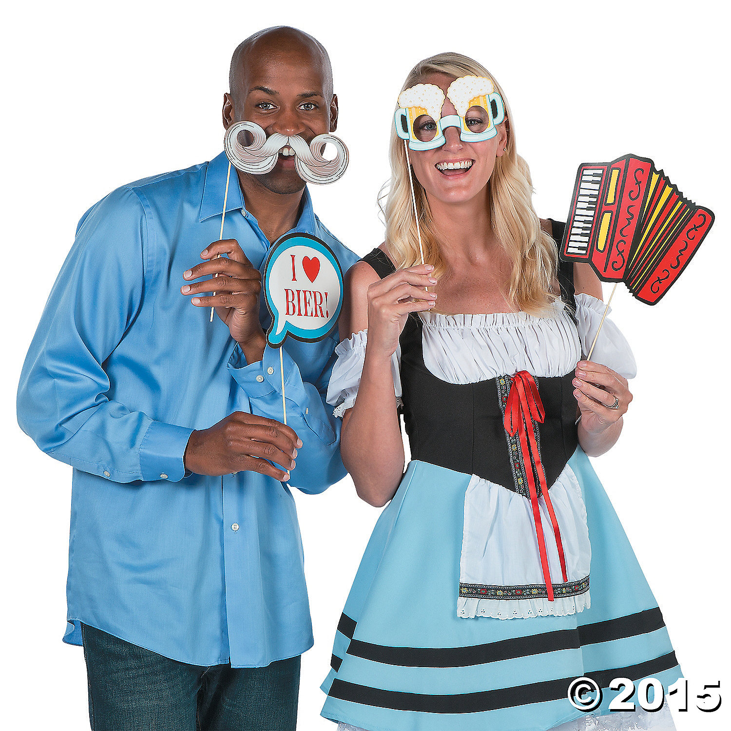 oktoberfest big photo stick props 12 pk party supplies. Black Bedroom Furniture Sets. Home Design Ideas