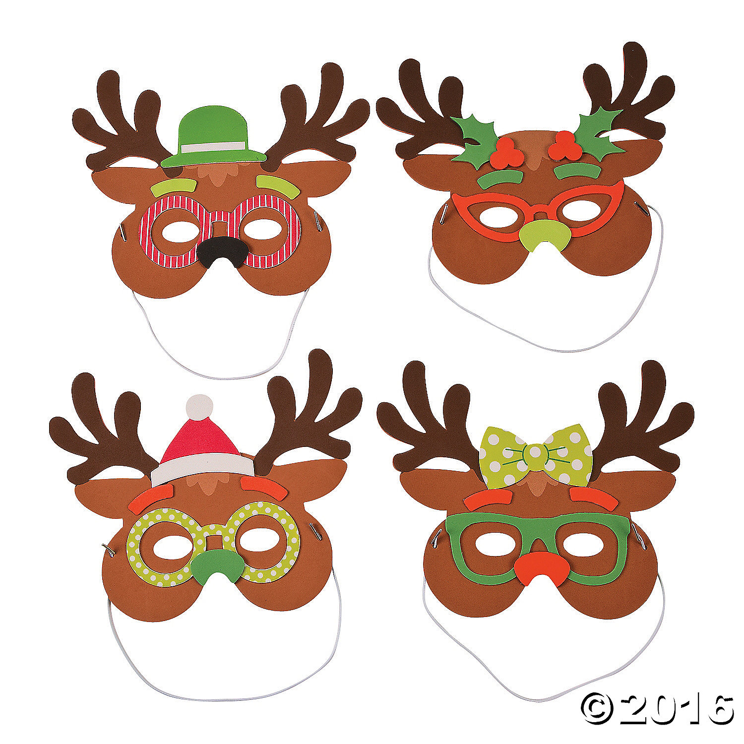 Silly Reindeere Mask Craft Kit