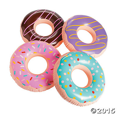 "Inflatable 15"" Donuts 12pk"