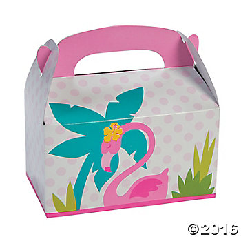 Flamingo Full Size Loot Boxes - 12 Pack