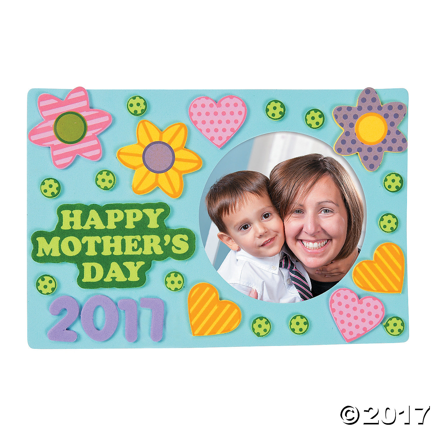 Happy Mother's Day Frame Craft Kit-12Pk