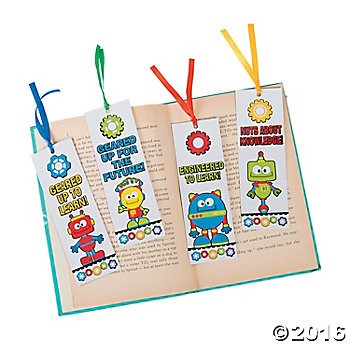 Laminated STEM Gear Bookmarks - 48pk
