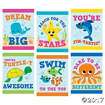 Under The Sea Giant Posters - 6pk