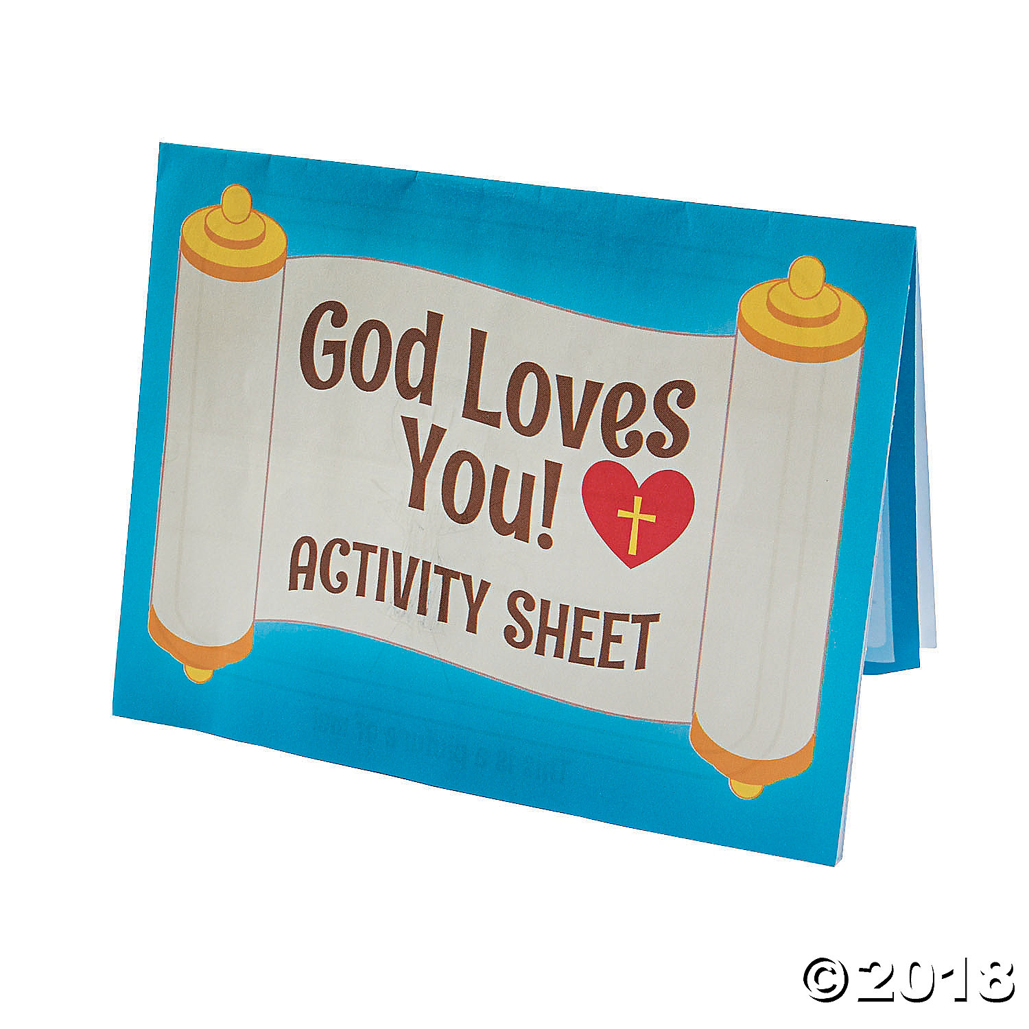 Religious: Jesus Loves Me Activity Sheets - 24Pk Party Supplies ...