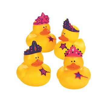 Princess Rubber Duckies 12 Pk