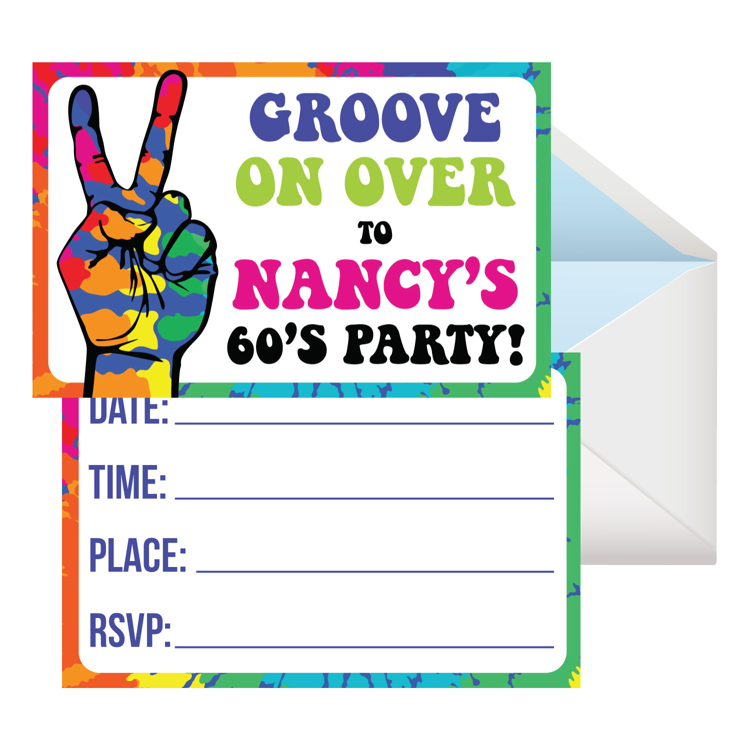 1960\'s (Sixties) Decor & Party Supplies Party Supplies Canada ...