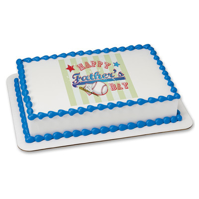 #1 Father PERSONALIZABLE Edible Image Cake Topper