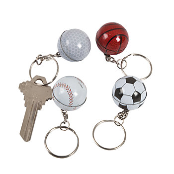 Sports Ball Keychains 144 Pk Party Supplies Canada - Open A