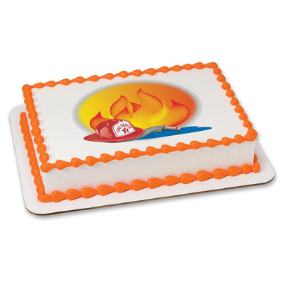 Fireman PERSONALIZED Edible Icing Sheet