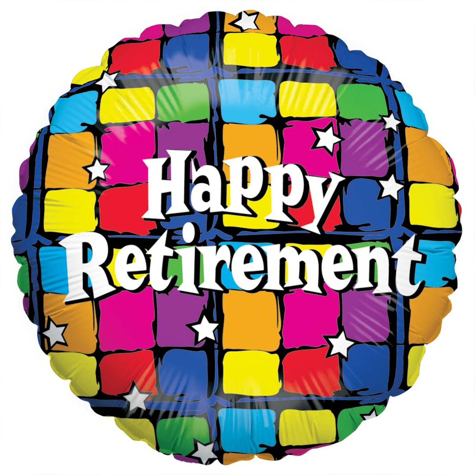 Retirement Party Supplies: Happy Retirement Foil Balloon
