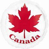 75% Off: Canada Day Large Foil Balloon