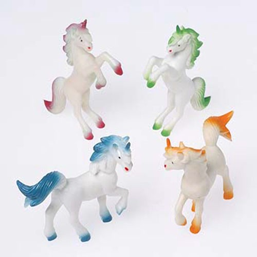 Toy Magical Unicorns - 4 Pack