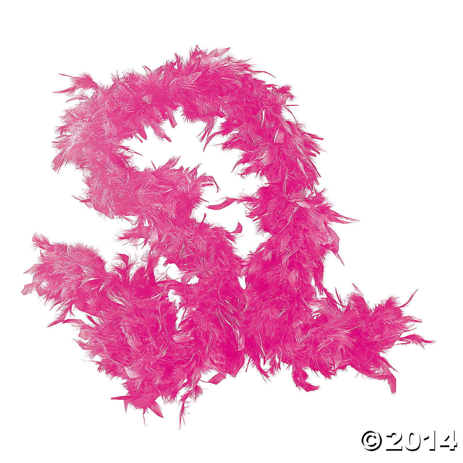 Pink 6 Ft. Feather Boa
