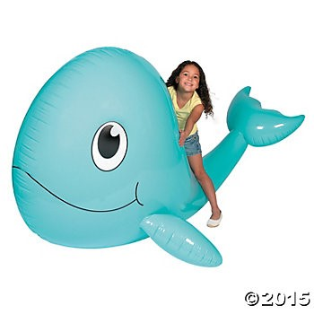 Giant Inflatable Whale - 6ft