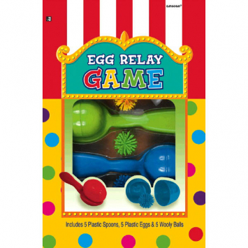 Deluxe Egg Relay Game
