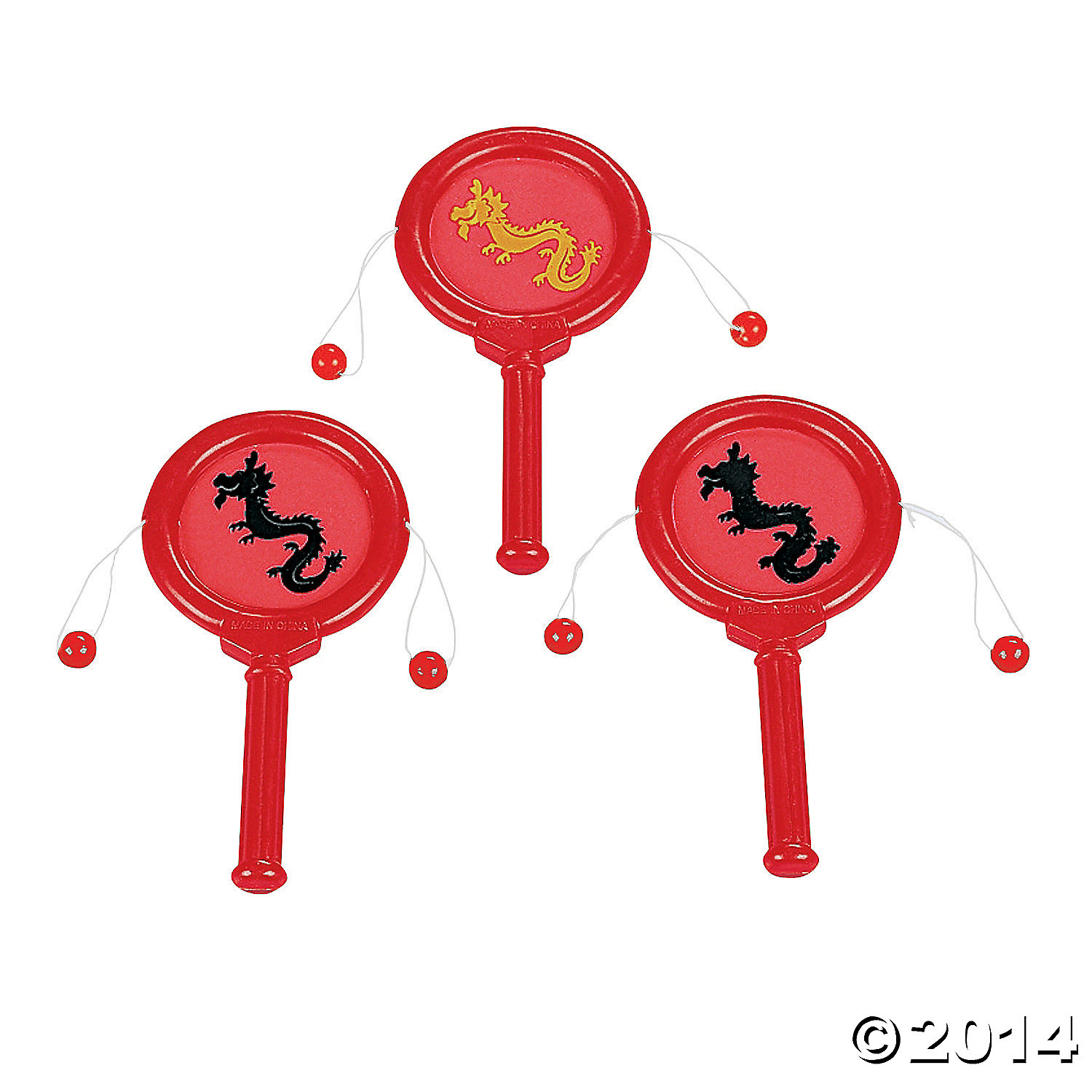 Mini Chinese Noisemakers 12 Pk