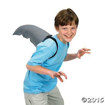 Costume Fabric Shark Fin