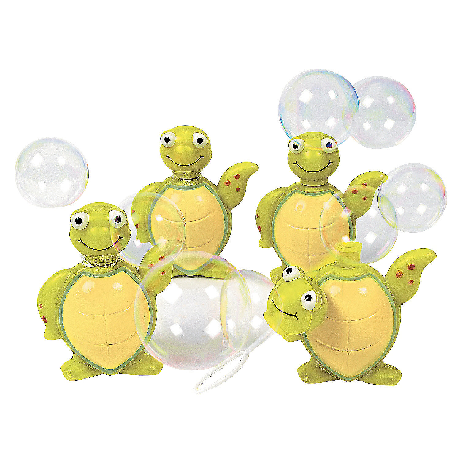 Sea Turtle Bubble Bottles - 4 Pk