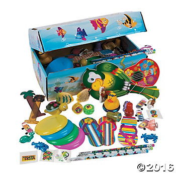Under the Sea Treasure Chest with 100 Toys