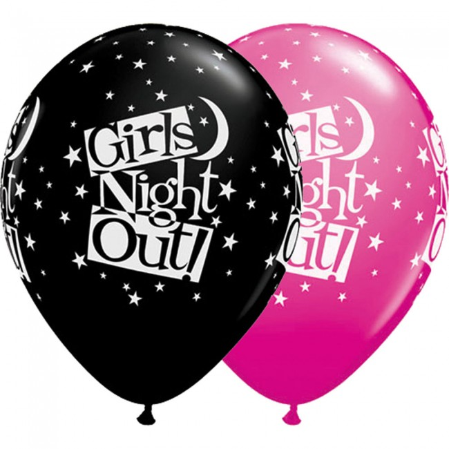 Girls Night Out Latex Balloons - 50 Pk