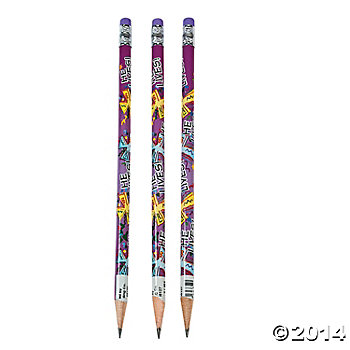 Jazzy He Lives Pencils - 24 Pack