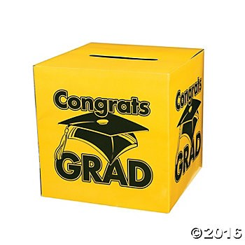 Graduation - Yellow Card Box